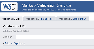 The-W3C-Markup-Validation-Service-Tool